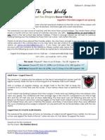 Cygnet Sea Dragons Junior Soccer Club - Edition 9 28 June 2014