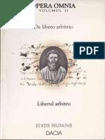 Sfantul Augustin II Liberul Arbitru