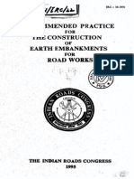 IRC 36-1970 Earth Embankment for Roads