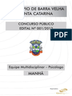 Equipe Multidisciplinar - Psicólogo