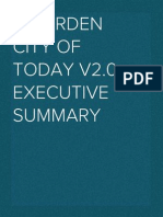 A Garden City of Today - Executive Summary