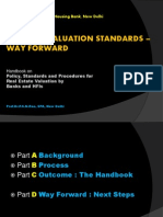 Uniform Valuation Standards Way Forward