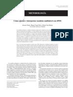 Analisis Multinivel SPSS