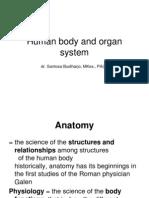 Human Body and Organ System,Untad 2012 Last Edit