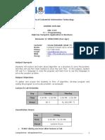 IBD 1124 - C++ Programming 2-2008-2009 - Mr Su