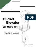 Bucket Elevator 200 TPH