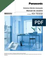 KX-TES32 Manual de Usuário
