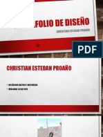 Portafolio de Diseño - Christian Esteban Proaño