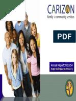 Carizon Annual Report 2013 2014