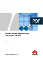 Huawei NodeB Expanison (3 Sector to 4 Sector)