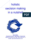 Holistic Decision Making