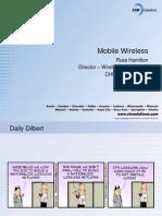 Mobile Wireless Evolution