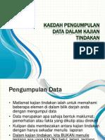 Kaedah Pengumpulan Data Dalam Kajian Tindakan - National Action Research Conference Anjuran Mara