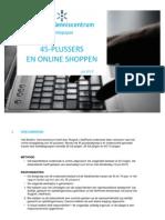 45-Plussers en Online Shoppen
