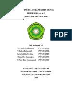 Laporan ALP (alkaline phospatase)