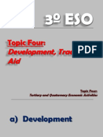 3º ESO.- Topic 4, Development, Trade and Aid