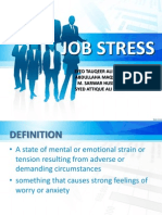 Job Stress Presentation