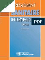 OMS - RÈGLEMENT SANITAIRE INTERNATIONAL 2005