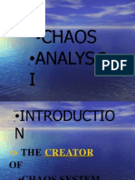 FX Chaos Analyzis