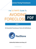 25 Essential Foreclosure Terms and Definitions eBook by Redstone Law Group