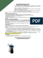 Distribuidora Embid Cotizacion Modelo Bactrack No Usa Boquillas