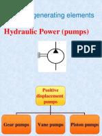 (5) Hydraulic Pumps II