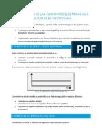 Tema 2 - Clasificación de Las Corrientes Eléctricas Más Utilizadas en Fisioterapia