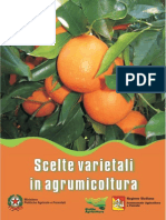 scelte varietali in agrumicoltura