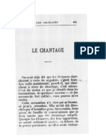 Octave Mirbeau, « Le Chantage »
