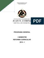 Programa i Semestre 2014-i 01