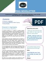 Funders Spring Newsletter