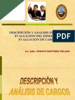 4.-Descripción,Análisis y Evaluación de Cargos