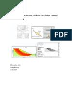 Metode-Metode Dalam Analisis Kestabilan Lereng