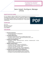 VMware VSphere Install Configure Manage V5 5