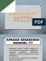 kesedarankendiri-130913224056-phpapp01