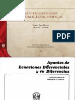 Apuntes de Ecuaciones Diferenciales y en Diferencias Prospero Unam