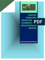 Guia de Atención Educativa de Alumnos Con Discapacidad Motriz