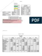 Sample Budgeting Worksheet