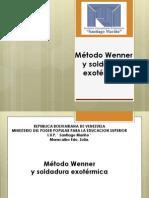 Metodo Wenner y Soldadura Extermica