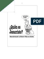 Discipulado ¿Quien Es Jesucristo Vol. 0