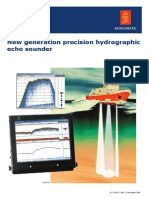 New generation precision hydrographic echo sounder