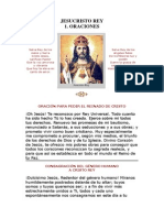 Oracion a Jesucristo Rey