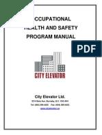 City Elevator Safety Program