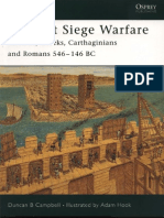 Ancient Siege Warfare. Persians, Greeks, Carthaginians and Romans 546-146 BC-Osprey Publishing (2005) by (Elite ) Duncan Campbell, Adam Ho