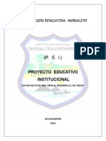 Pei Institucion Educativa Moralito Version 2014