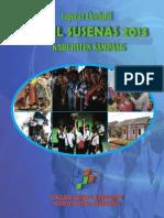 Laporan Eksekutif Hasil Susenas 2013