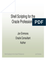 Shell Script ForDBA