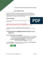Rt-lab Set Fixed Ip Address