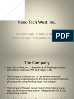 Nano Tech West Powerpoint