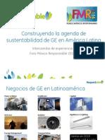 Construyendo la agenda de sustentabilidad de GE en América Latina
